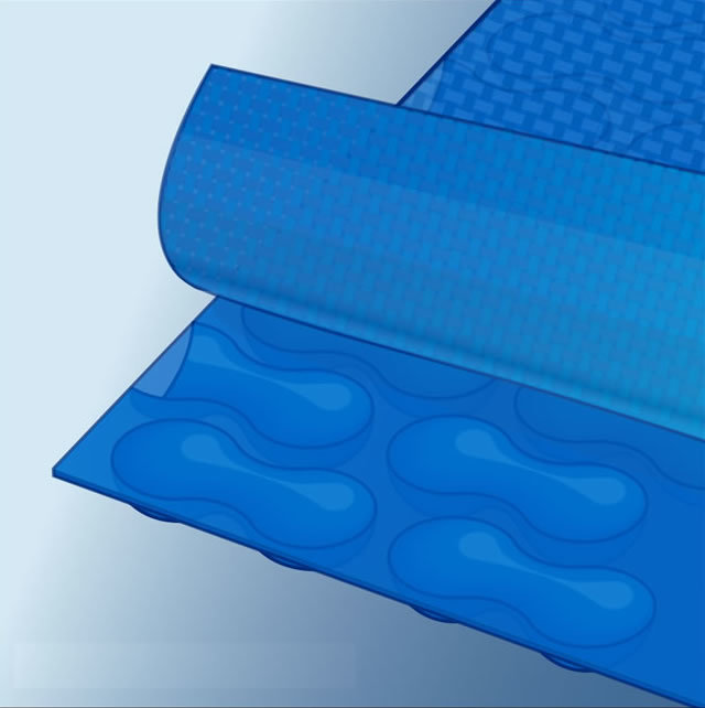 woven strong durable long lasting geobubble pool cover layers