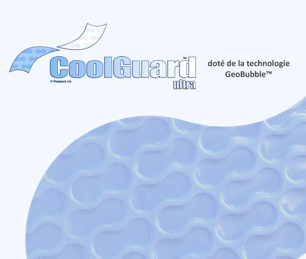 couverture de piscine coolguard ultra