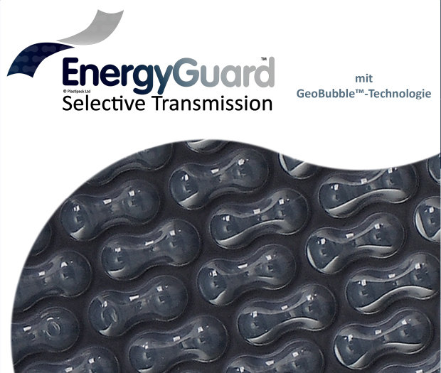 EnergyGuard Selective Transmission Schwimmbadabdeckungs broschüre