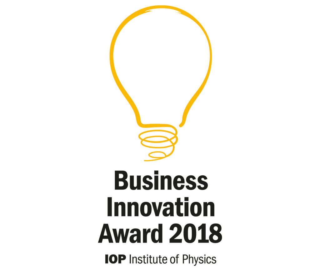 Business Innovation Award 2018 IOP (Institute of Physics)